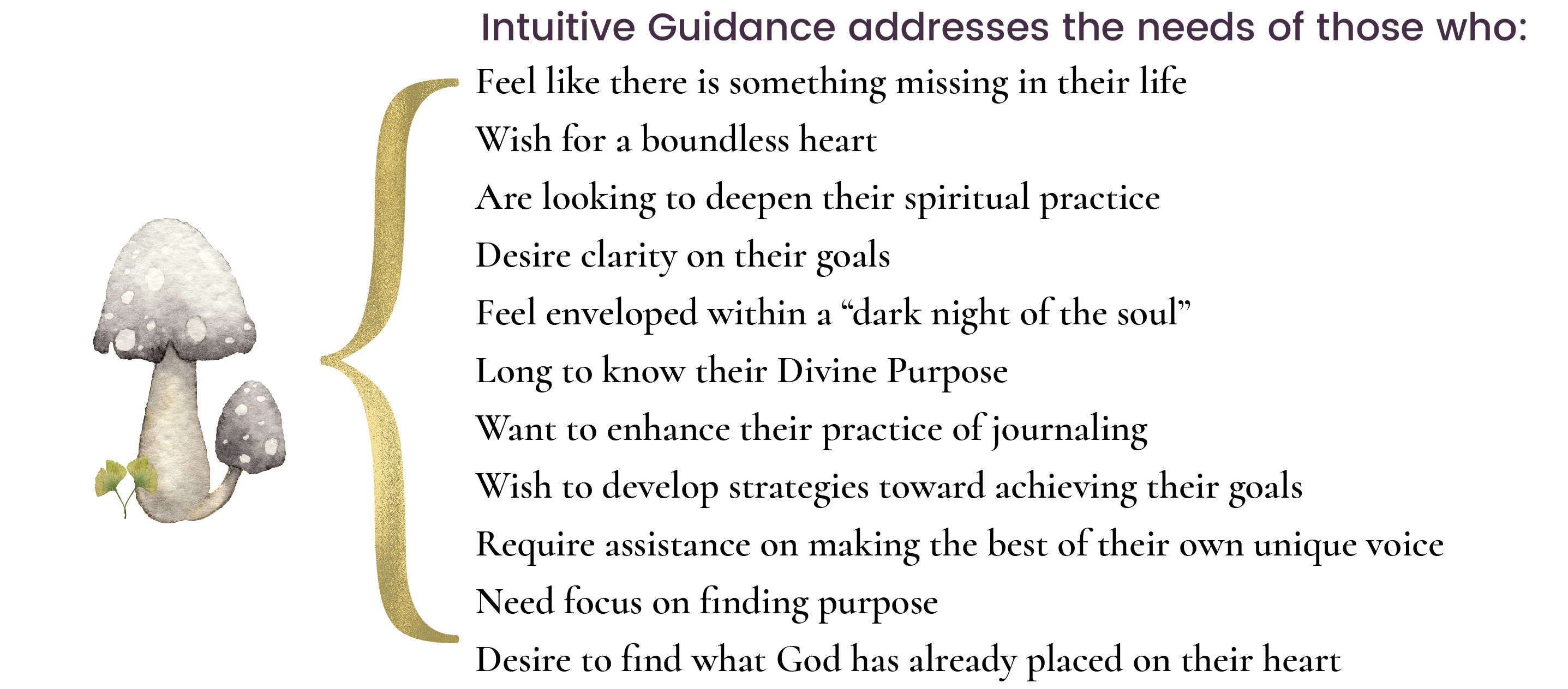 Intuitive guidance address needs g through the use of story and symbol i make abstract spiritual concepts more concrete helping you live into your own personal awareness so that you may biocorpaavc