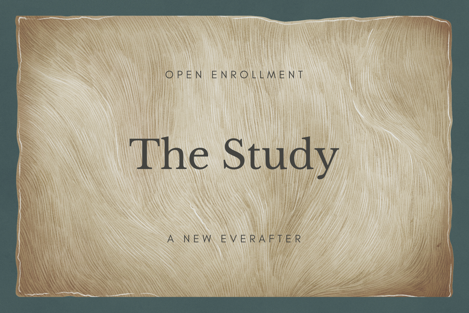 The Study Opens